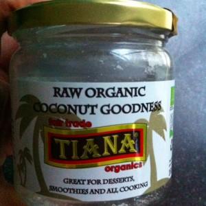 kokosolie raw merk tiana