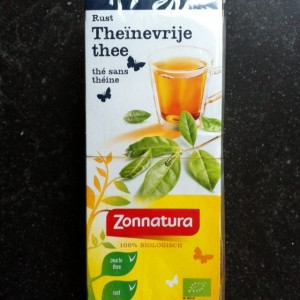 theïnevrije thee van Zonnatura