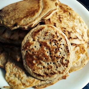 volkoren pannenkoekjes met lupine en pastinaak